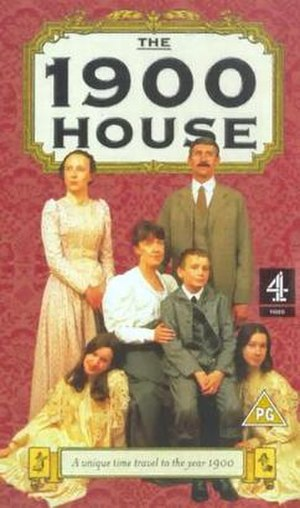 The 1900 House - PAL VHS cover (UK)
