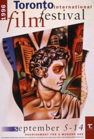 1996 Toronto International Film Festival - Festival poster