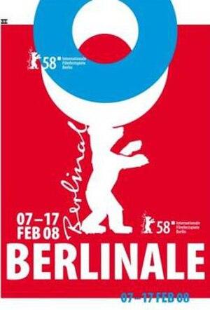 58th Berlin International Film Festival - Festival poster
