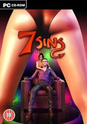 7 Sins (video game) - PAL PC boxart