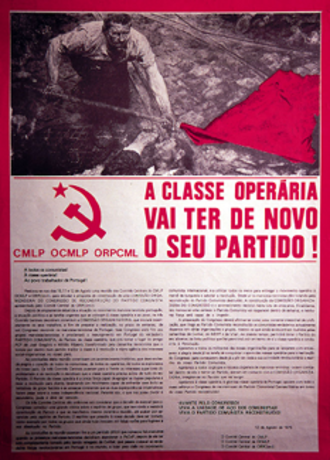Communist Party (Reconstructed) - Proclamation of CMLP, OCMLP and ORPC(ml). announcing the constitutive congress of PCP(R).