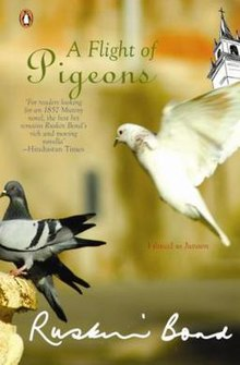 A Flight of Pigeons (Ruskin Bond novel - cover art).jpg