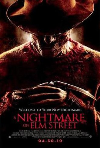 A Nightmare on Elm Street (2010 film) - Theatrical release poster