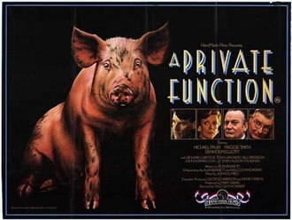 A Private Function - Theatrical release poster