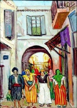 Abdelaziz Gorgi - An example of Gorgi's artwork
