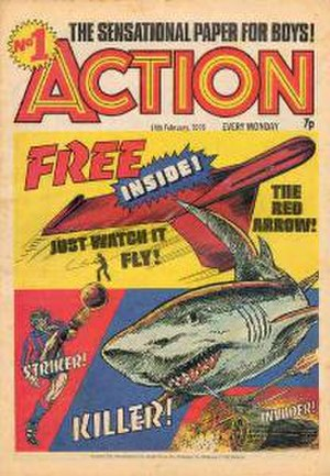 Action (comics) - Image: Action cover
