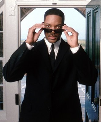 Agent J - Will Smith as Agent J.