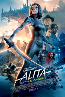<i>Alita: Battle Angel</i> 2019 film directed by Robert Rodriguez