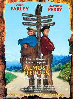 Almost Heroes - Theatrical release poster