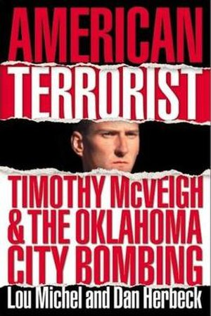 American Terrorist - Dust jacket from the hardcover edition
