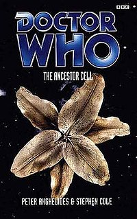 <i>The Ancestor Cell</i> novel by Peter Anghelides