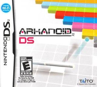 <i>Arkanoid DS</i> 2008 video game