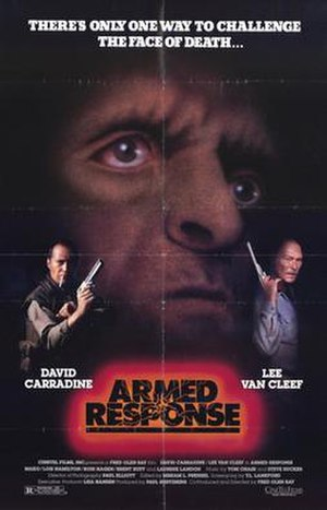 Armed Response (1986 film) - Theatrical film poster