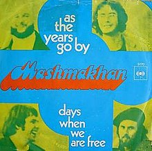 """Days When We Are Free/As the Years Go By"""" cover."