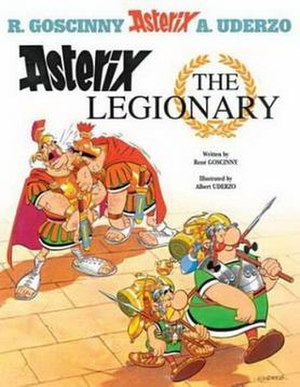 Asterix the Legionary - Image: Asterixcover 10