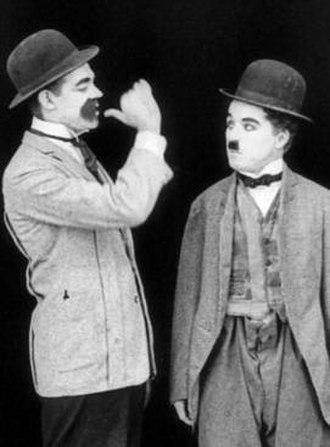 Albert Austin - Albert Austin with Charlie Chaplin