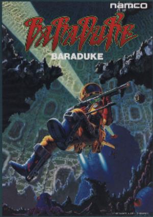 Baraduke - Arcade flyer