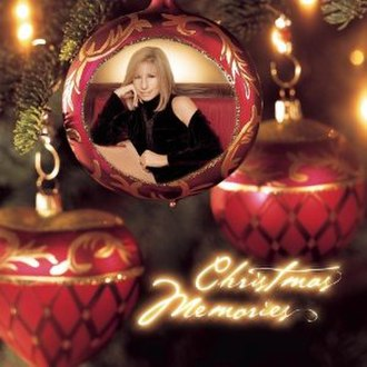 Christmas Memories - Image: Barbra Streisand Christmas Memories cover