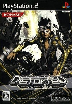 Beatmania IIDX 13: Distorted - Titlescreen of the CS version