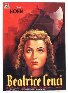 <i>Beatrice Cenci</i> (1941 film) 1941 film by Guido Brignone