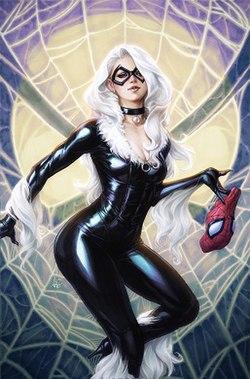 Spiderman and blackcat having sex