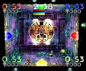 Blast Chamber - Screenshot from Blast Chamber Eliminator Mode