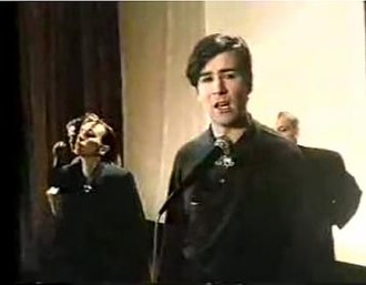 "Be My Lover Now - Philip Oakey in music video for ""Be My Lover Now"""