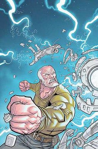 Brit (comics) - Image: Brit by Cliff Rathburn
