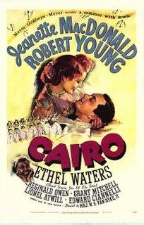 <i>Cairo</i> (1942 film) 1942 film by W. S. Van Dyke