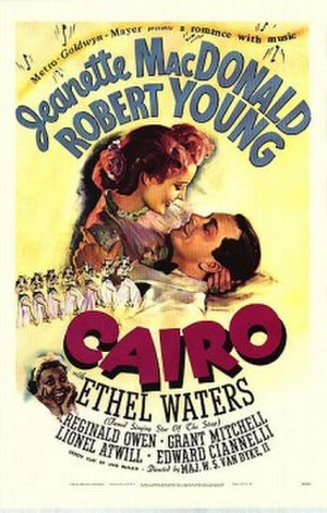 Cairo (1942 film) - Theatrical poster