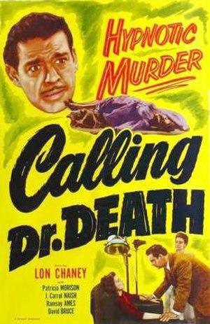 Calling Dr. Death - Image: Calling Dr. Death Film Poster