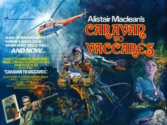 Caravan to Vaccarès (film) - Original cinema poster