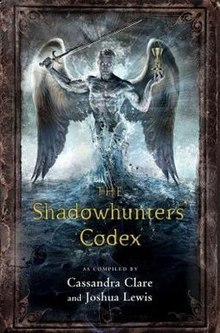 Cassandra Clare The Shadowhunter's Codex book cover.jpg