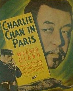 <i>Charlie Chan in Paris</i> 1935 film by Lewis Seiler