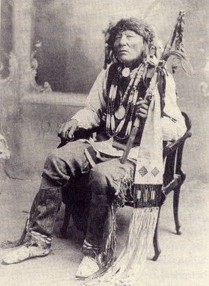 101 Ranch Oil Company - Chief White Eagle of the Ponca Tribe.