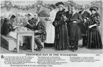 Image result for christmas day in the workhouse