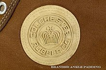 c09e136630de Image of the Original Colchester Rubber Company ball logo