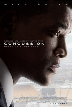 Concussion (2015 film) - Theatrical release poster