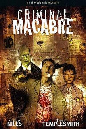 Criminal Macabre: A Cal McDonald Mystery - Image: Criminal Macabre
