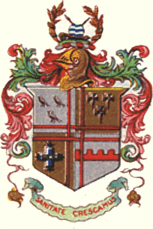 County Borough of Croydon - Arms of the County Borough Corporation