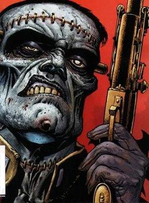 Frankenstein (DC Comics) - Image: DC Comics Frankenstein
