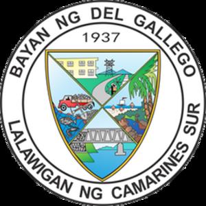 Del Gallego, Camarines Sur - Image: Del Gallego Camarines Sur