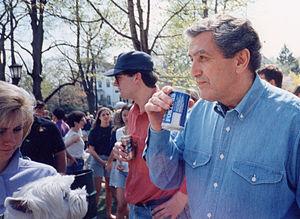 John A. DiBiaggio - John DiBiaggio celebrating Spring Fling at Tufts University in 1993