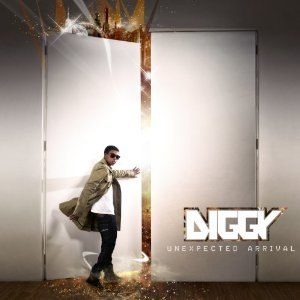 Unexpected Arrival - Image: Diggy Unexpected Arrival cover