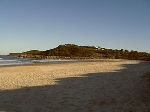 Bundjalung Nation Timeline - Goanna Headland at Evans Head, New South Wales, Australia. (2009).