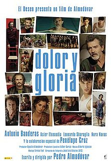 <i>Pain and Glory</i> 2019 film directed by Pedro Almodóvar