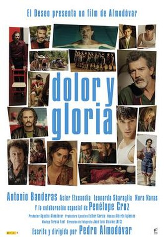 Pain and Glory - Image: Dolor Y Gloria Poster