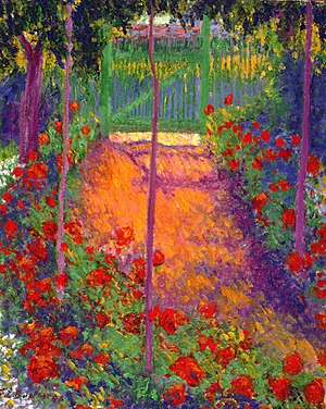 Theodore Earl Butler - Theodore Earl Butler, Entrance to the Garden Gate, 1898