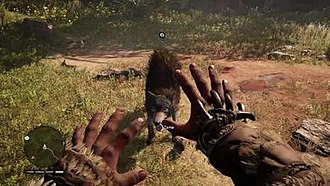 Far Cry Primal - In Far Cry Primal, the player has the ability to tame animals for use in combat.