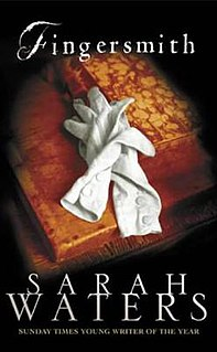 <i>Fingersmith</i> (novel) Sarah Waters novel